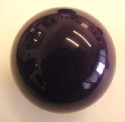 Custom Novelty Billiard Ball For Pool Table Games Purple