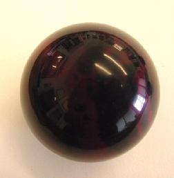 Custom Novelty Billiard Ball For Pool Table Games Purple Black