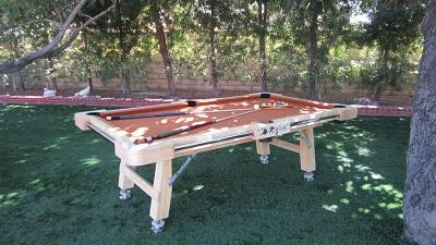 Portable 7' Pool Table By DiRiginal Billiard Sports